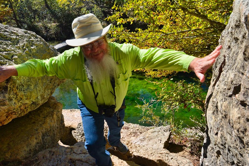 John Keatley in the Texas Hill Country
