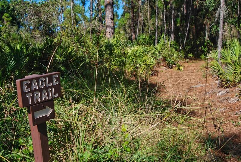 Eagle Trail sign