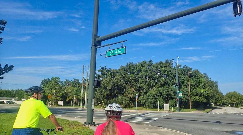 Cross Seminole Trail Oviedo Mall