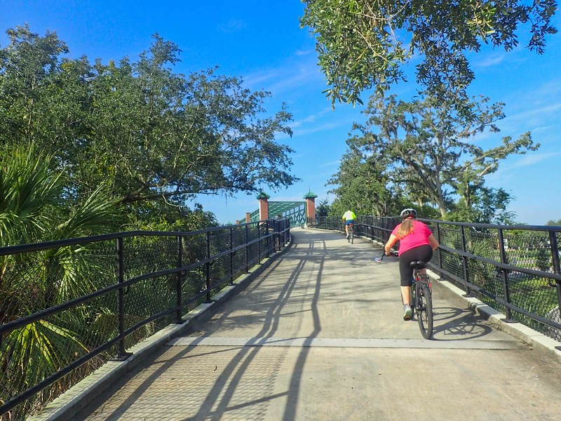 Cross Seminole Trail Oviedo bridge