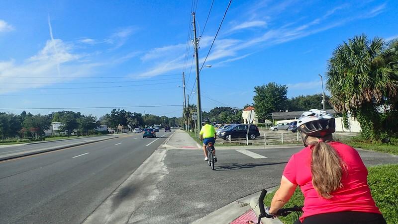 Cross Seminole Trail SR 426 side path
