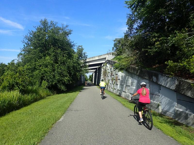 Cross Seminole Trail SR 417 underpass
