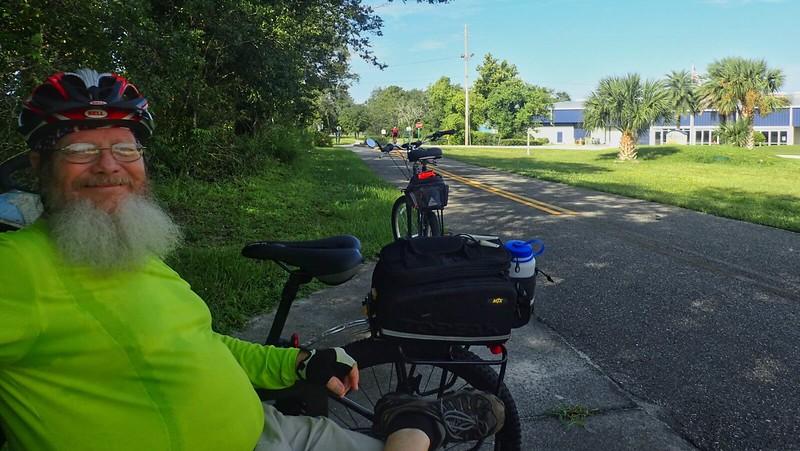 John on Cross Seminole Trail