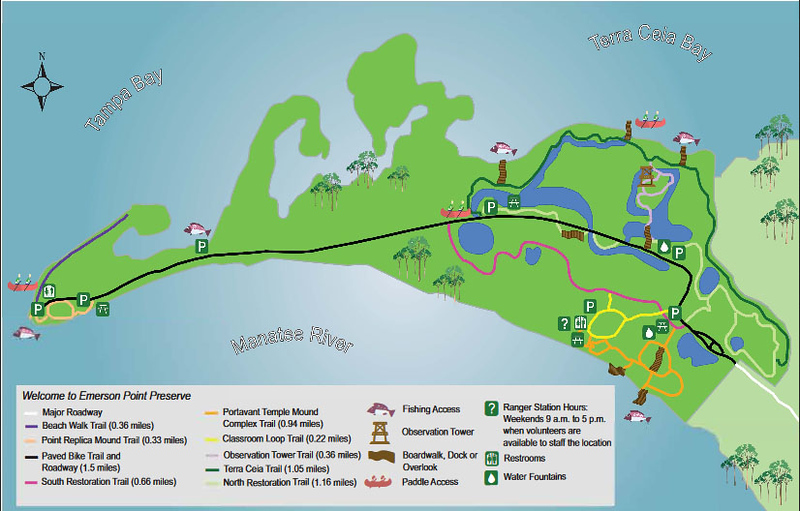 Emerson Point Preserve Trail Map