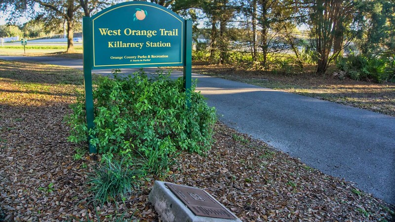 Killarney Station sign