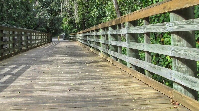 bike trail boardwalk