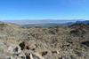 Looking down into Palm Desert
