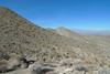 San Gorgonio peaks through behind Murray Hill - this is where I turned around - about 2 miles before Dunn Road.