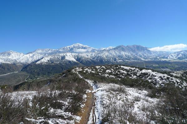 Crafton Hills - Zanja Peak again 2.27.11