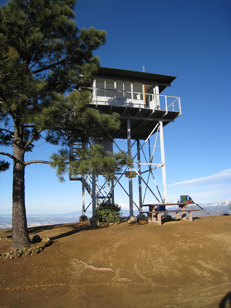 Fire Road Run - Morton Peak and Crystal Creek Heliport Run 1/26/08