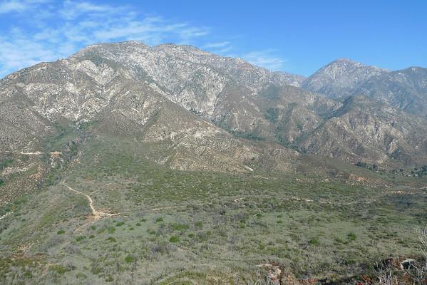 Frankish Peak in the San Gabriels - Trail Run   11.22.09