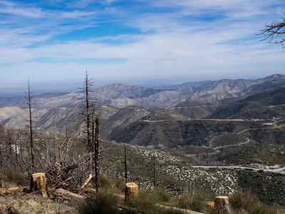 Mount Gleason from Mill Creek Summit 02.27.16