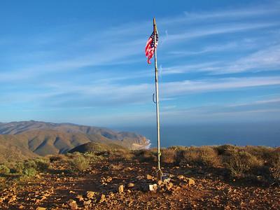 Mugu Peak - Trail Run in  Point Mugu State Park  1.21.12