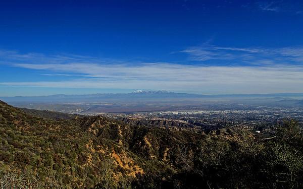 Trail Run to Sierra Peak via Skyline Drive  2.23.13