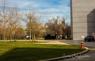Part of Case Western Reserve University on University Circle