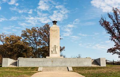Civil War Peace Memorial, Eternal Light