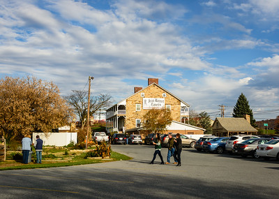After leaving Gettysburg, we drove on out Route 30 until we came to the historic Jean Bonnet Tavern.