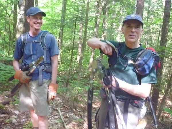 Trail Work Weekend on Sandwich Mountain