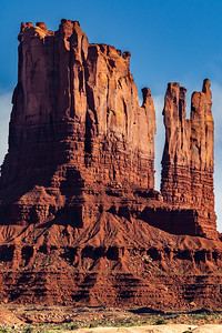 Stagecoach Butte and Towers, Monument Valley, Utah/Arizona