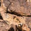 Parowan Gap Petroglyphs, Red Hills, Iron County, Utah