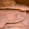 Petroglyphs, Zion National Park, Utah