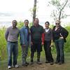 Allwyn, Diane, Jeff, Dara and Stephanie in Tallman.