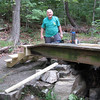 Roland Breault, bridge builder.