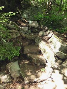 Rock steps.