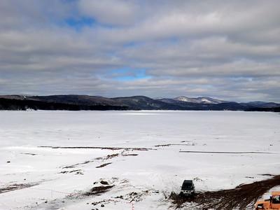 Looking north over Great Sacandaga Lake in Batchellerville.