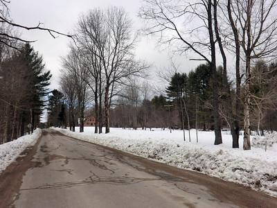 Benson Road in Benson, looking north.
