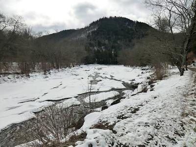 Stony Creek near the junction of NY Route 30 and Benson Road.