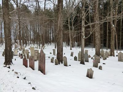 Stimson Cemetery on Consaul Road, Saratoga County.