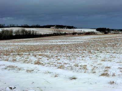 View from DeGraff Road in Saratoga County.