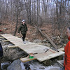 275  Chris Reyling, John Waffenschmidt and a young hiker crosses finished bridge