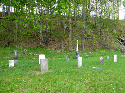 Cemetery off Rte 990V in Gilboa.