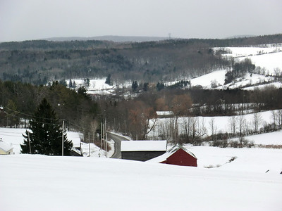 View off Willsie Road in Section 34 (3/22/13).