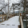 Bridge across Line Creek in Middleburgh (3/22/13).