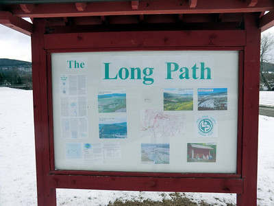 LPNHC kiosk off Route 30 in Middleburgh (3/22/13).