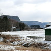 View across the Schoharie Valley and Vroman's Nose from Route 30 (3/22/13).