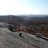 View from the Lichen Trail in Harriman S.P. This and the following 7 pictures form a panoramic 360° view.