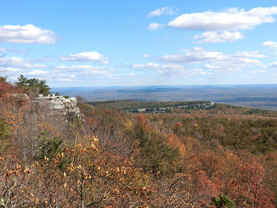 View from Castle Rock.