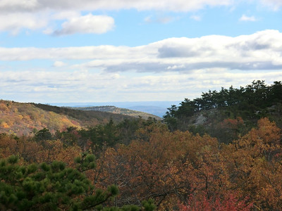 View west from Sam's Point Preserve.
