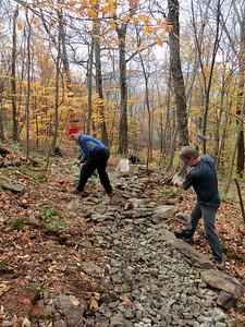 John crushing rock.