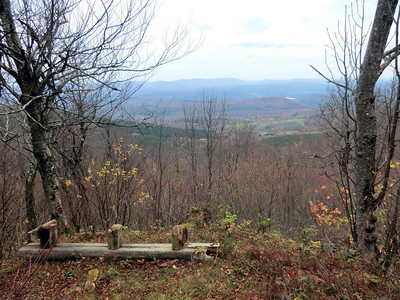 View west from Huntersfield Mtn.