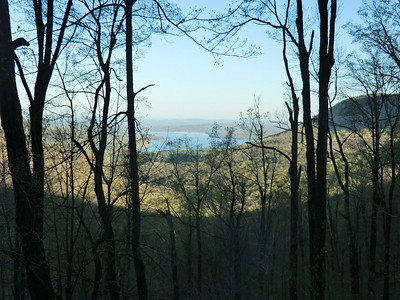 View of Ashoken Res. from Cross Mtn. (5/3/13)