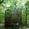 Mountain Lodge water tank.