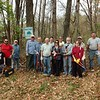 Morris Canal Greenway crew at Mt. Rascal (Hackettstown) - 10/30/16 (picture Corey Tierney)