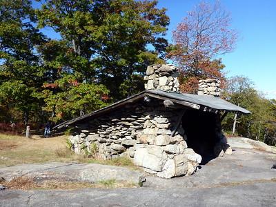 Big Hill Shelter in Harriman SP.