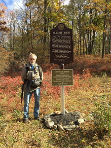 Monument along the LP in Harriman - 10/25/16 (picture by Thom Patton)