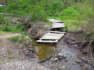 Bashakill bog bridges need fixing.